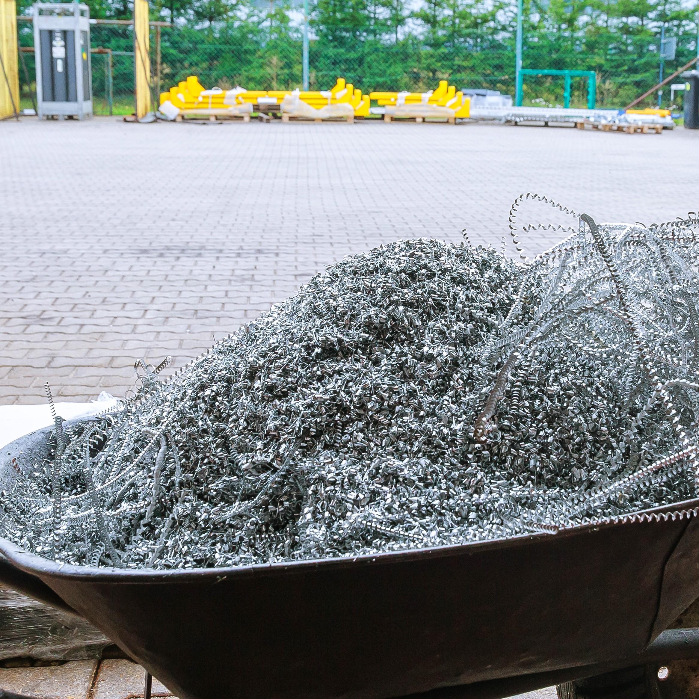 Ekstrakcja podczas cięcia aluminium