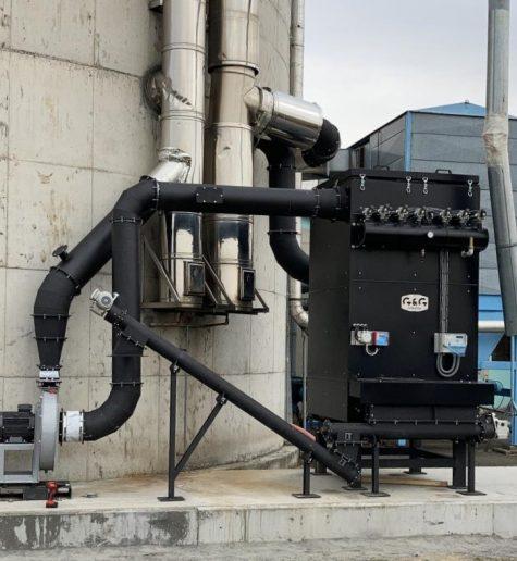Filtracja spalin z kotłów na biomasę